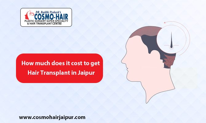 How much does it cost to get a hair transplant in Jaipur?