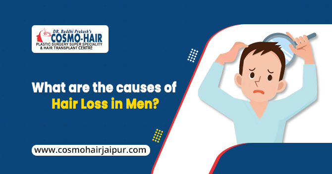 What are the Causes of Hair Loss in Men?